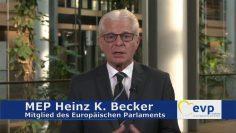MEP Heinz K. Becker – Ausbau Der EU Grenzschutzeinheit Frontex