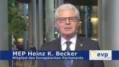 MEP Heinz K. Becker – Bilanz Zur EU Ratspräsidentschaft