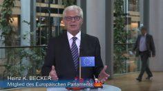 MEP Heinz K. Becker Interrail Für 18jährige