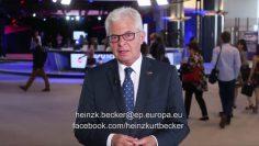 MEP Heinz K. Becker Neue EU Privatpensionen