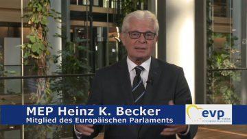 MEP Heinz K. Becker – Zeit Chaos In Europa Verhindern