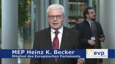 MEP Heinz K. Becker Zur Aktuellen Zeitumstellung