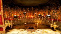 Besuch Der Geburtskirche In Betlehem