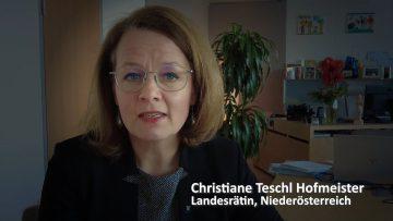 Weihnachtswünsche Von Landesrätin Christian Teschl Hofmeister.