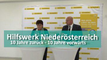 Hilfswerk Niederösterreich 10 Jahre Zurück – 10 Jahre Vorwärts Efz203